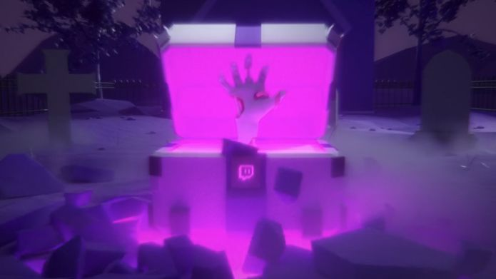 Twitch is offering Halloween loot boxes with temporary emotes
