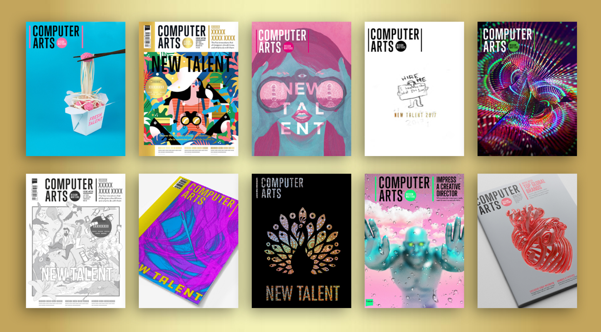 Computer Arts cover design contest 2017: Top 10 revealed!