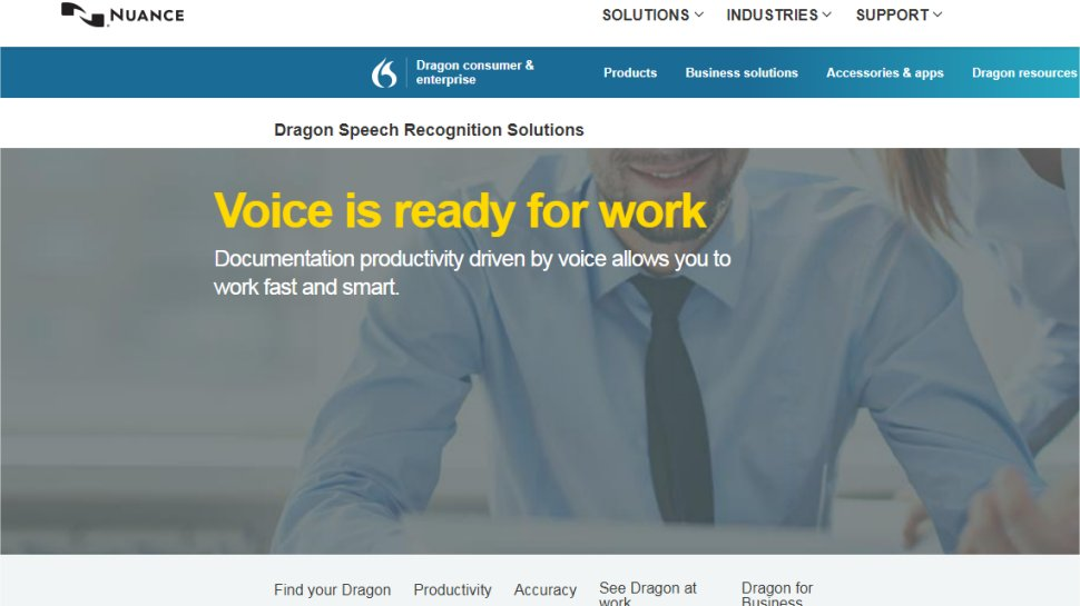Nuance Dragon Professional - A business-grade solution