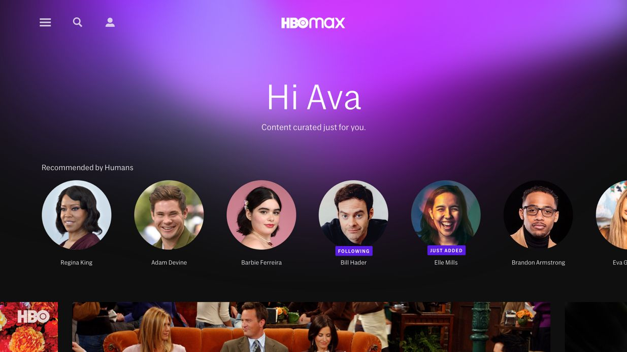hbo max app features