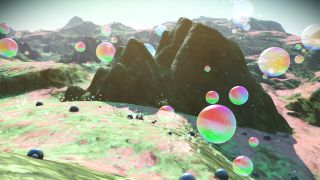 Take a look at more new biomes that arrived in the latest update from Hello Games