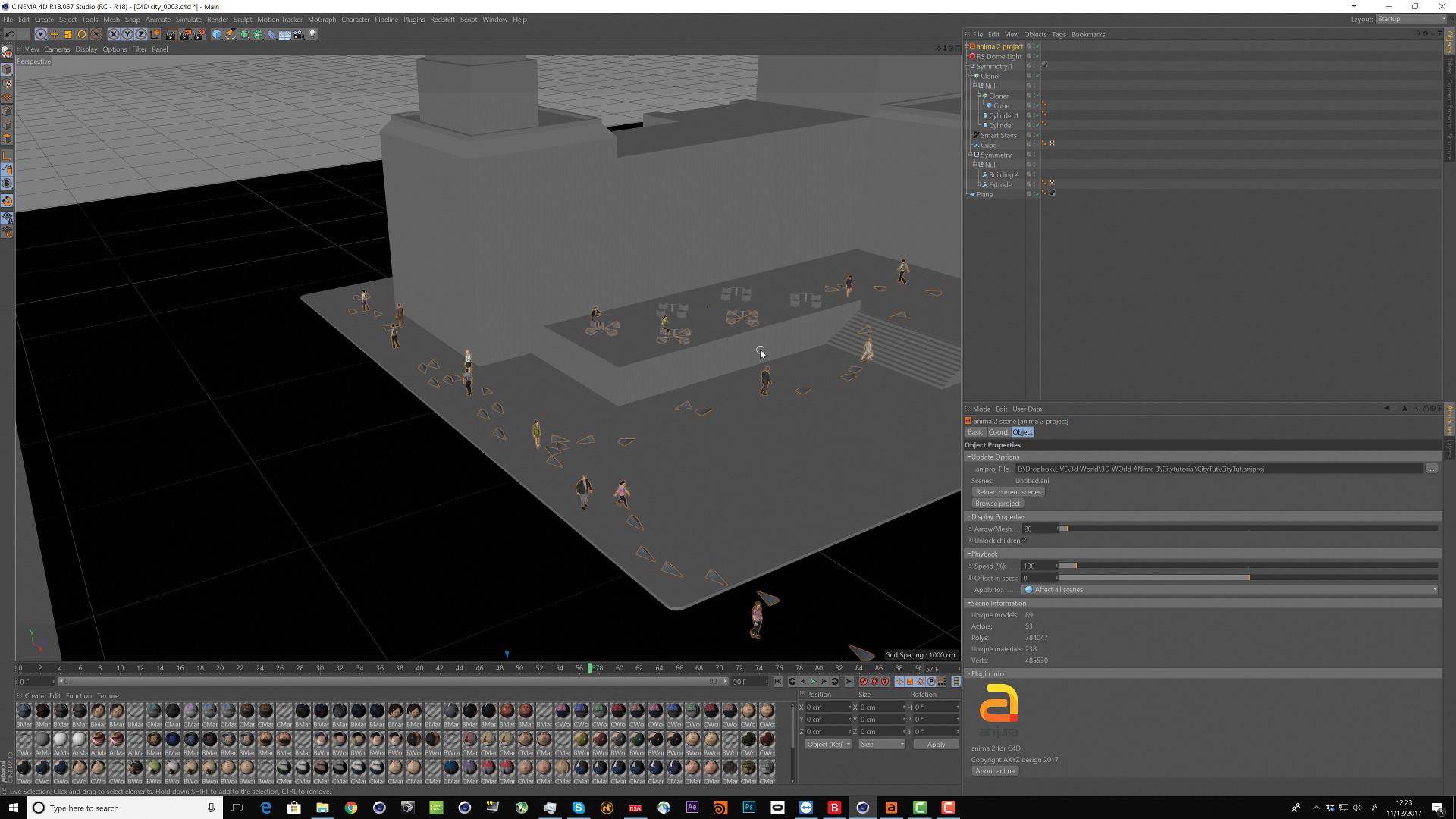 Create complex crowd scenes easily with Anima - Graphic Design