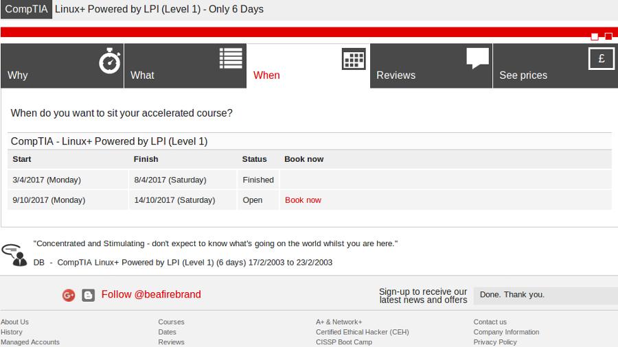Firebrand LPIC-1 Junior Level Linux Certification | Technology Break ...