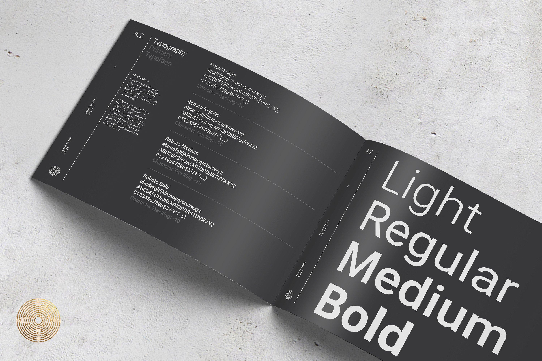 Best brochure templates: The minimalist