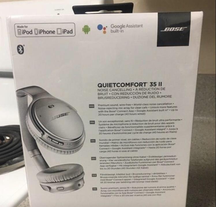 Bose QuietComfort 35 II headphones tipped to include Google Assistant