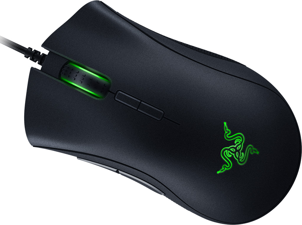 Razer DeathAdder receives Elite upgrade to mechanical switches and 16,000 DPI sensor