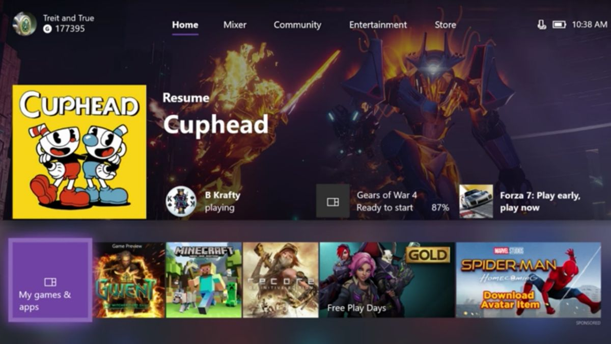 The new Xbox One update gets you ready for Xbox One X - transfer your games now, download 4K stuff and more