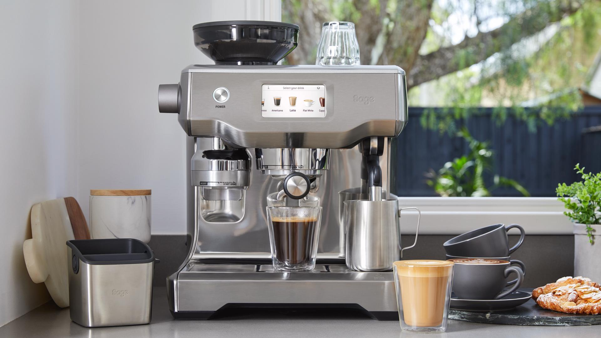 Espresso Coffee Machine 1 Liter Water