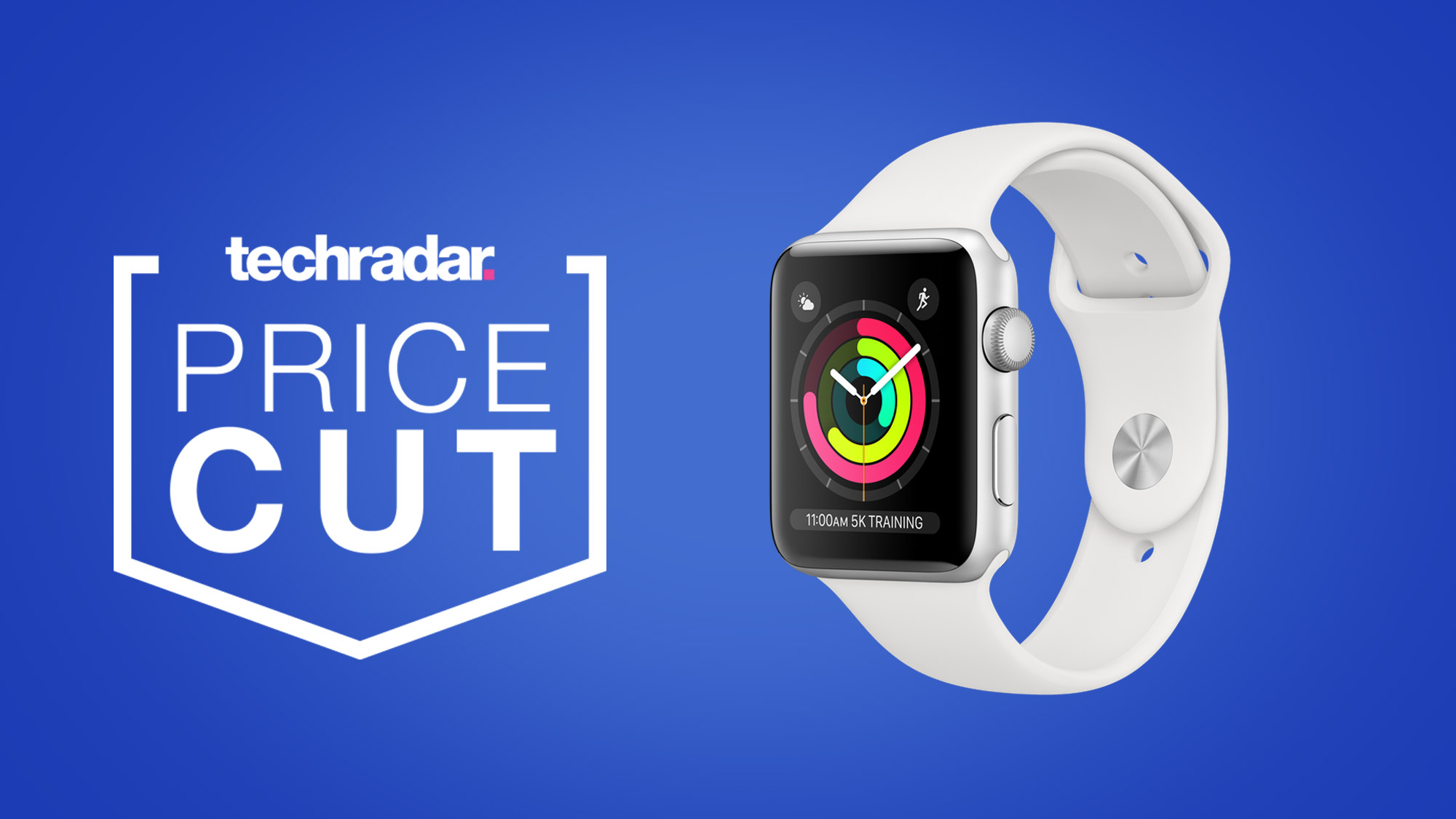 Apple Watch deal: the Apple Watch 3 is in  stock and on sale for only $199