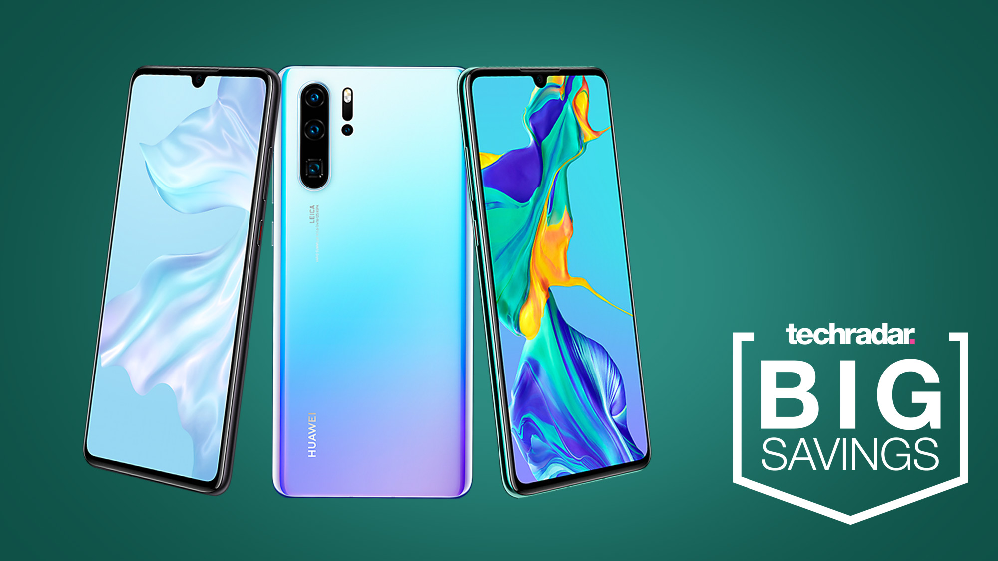 The best Huawei P30 deal on the market just hit its lowest price yet at £25 a month