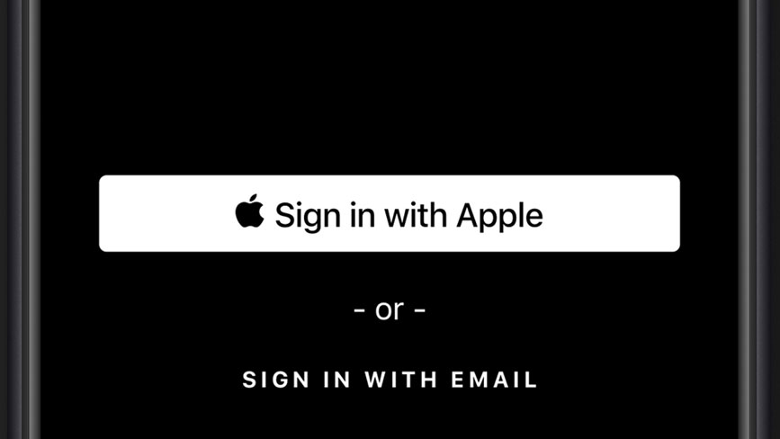 iOS 13 sign-in with Apple