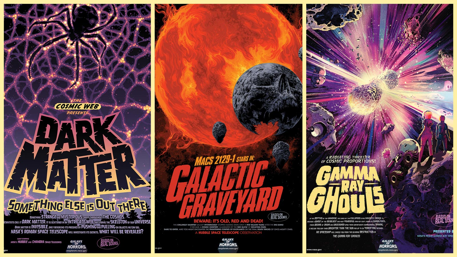 Grab these spooky (and free) NASA space  posters to haunt your Halloween