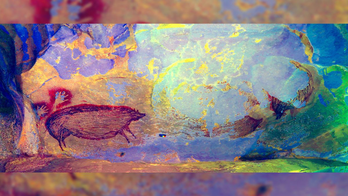Warty pig is oldest animal cave art on record