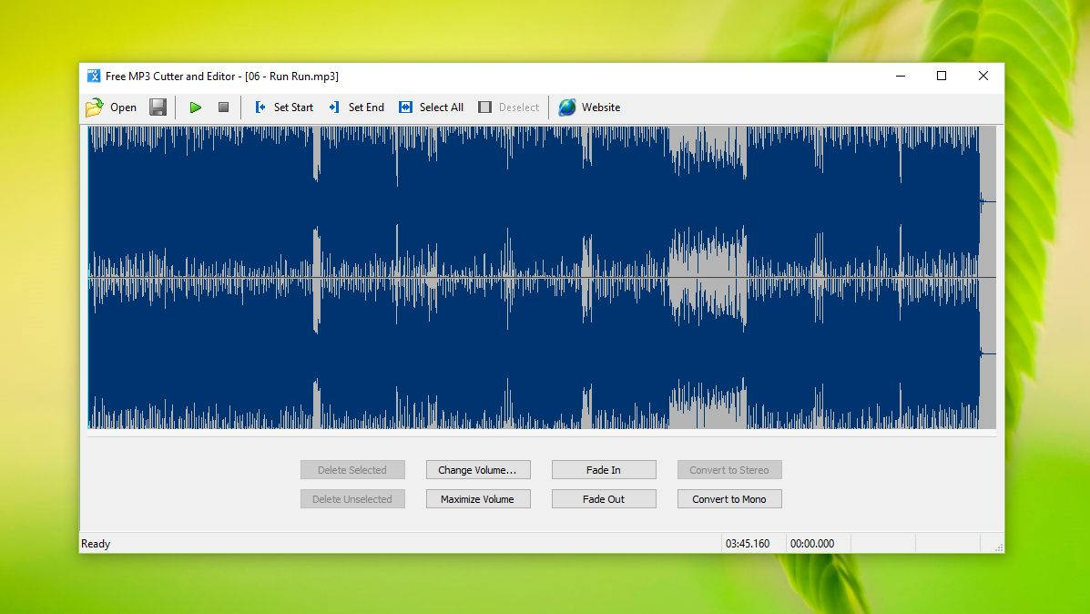 Free mp3 cutter and editor 2.5.0 build 376