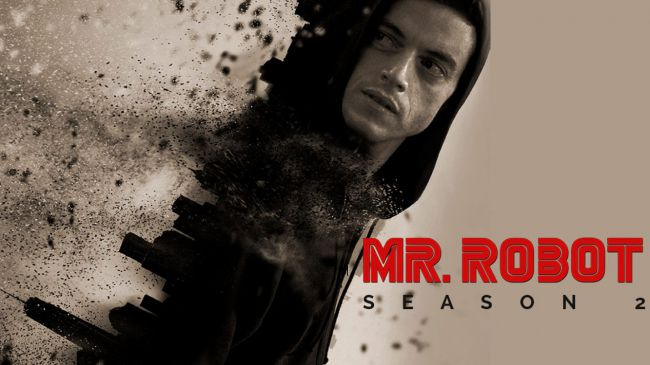 A promo shot from Amazon Prime for Mr Robot