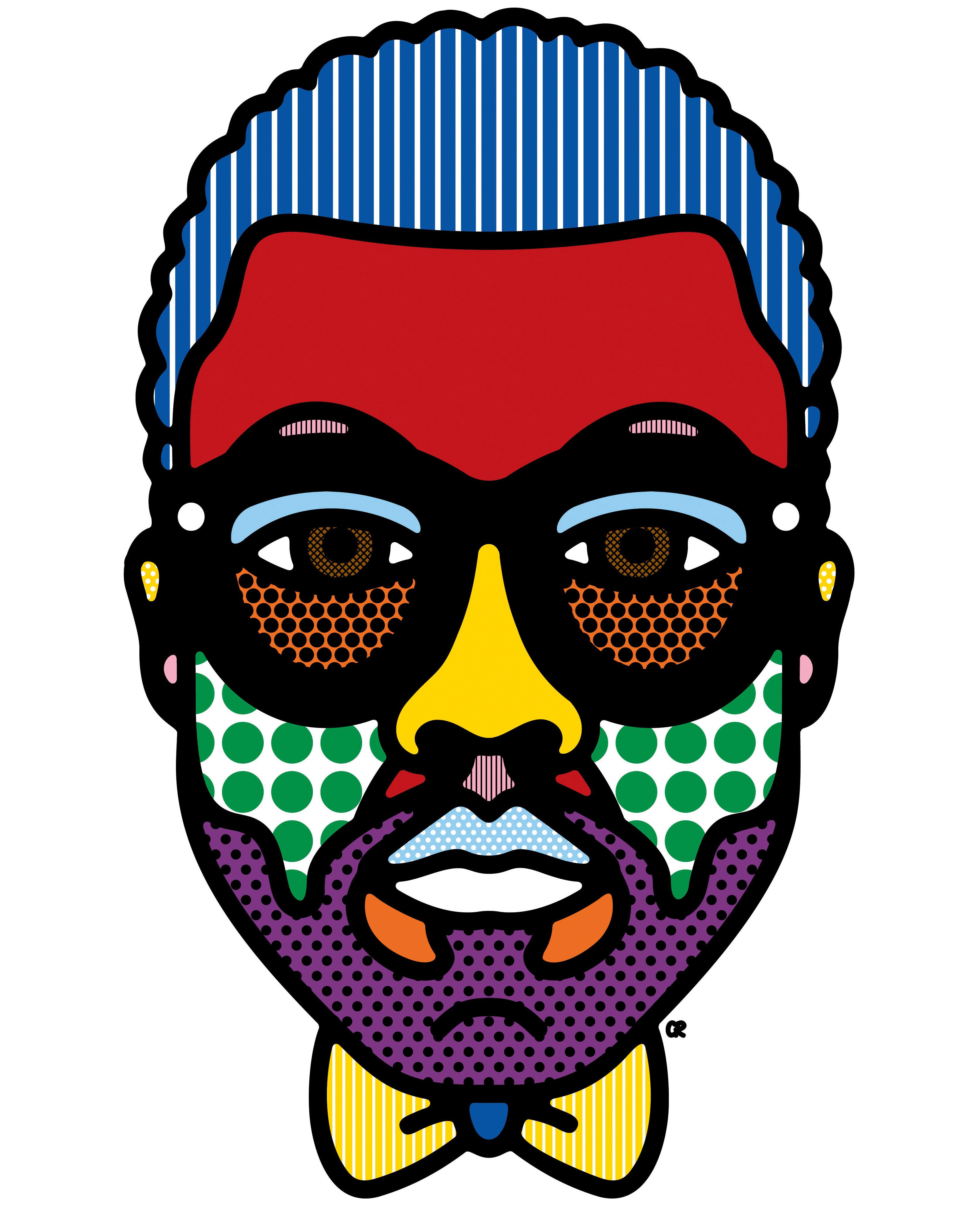 Craig & Karl's portrait of Kanye West