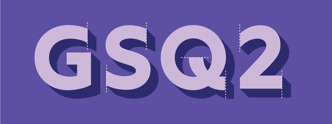 letters G S Q and number 2