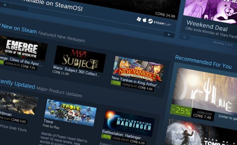 Valve has made some changes to gifting on Steam