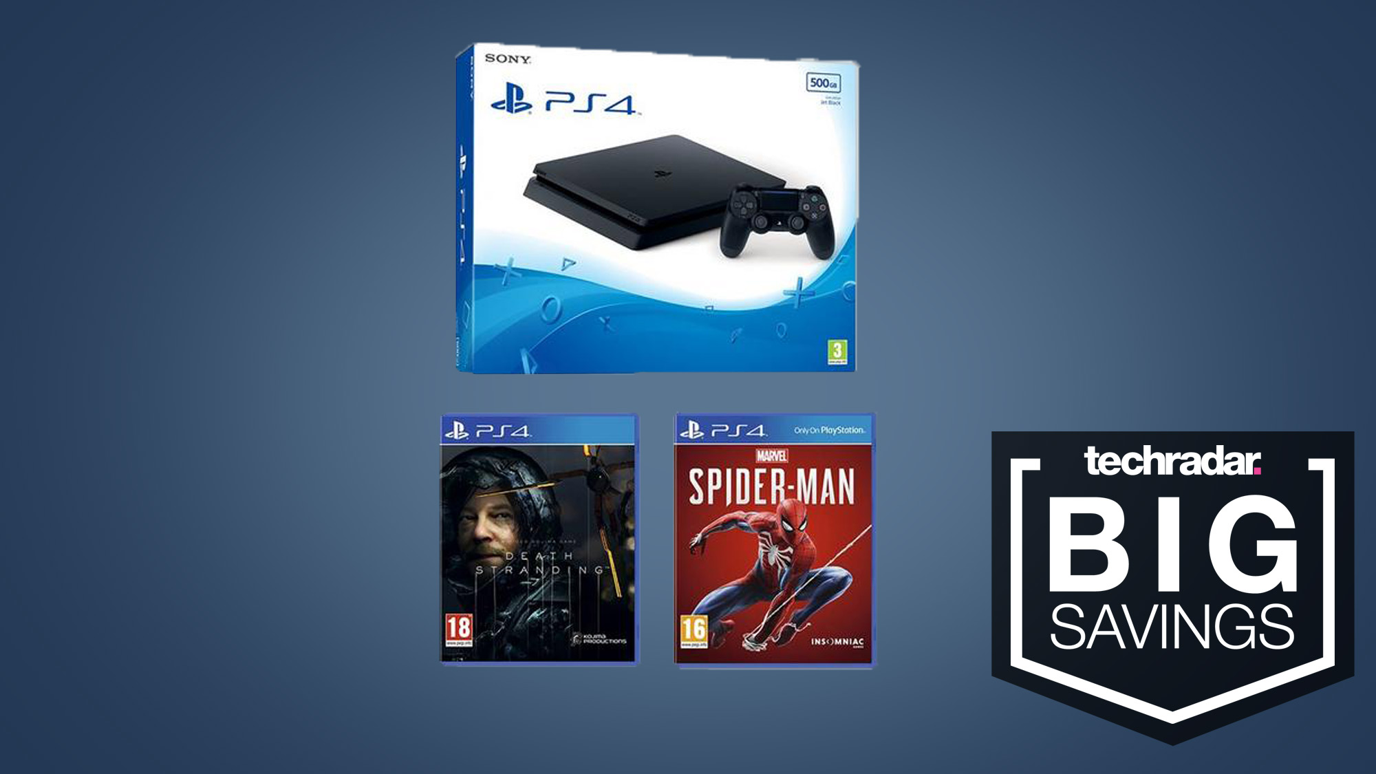Pick up a PS4 with Death Stranding and Spider-Man for only £200 this Black Friday