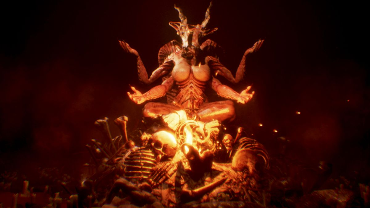 Think you're tough for shrugging at Agony's gore? That's what its creators want...