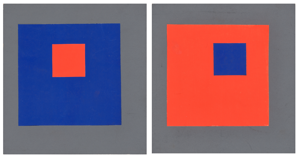 Erich Mrozek colour square studies