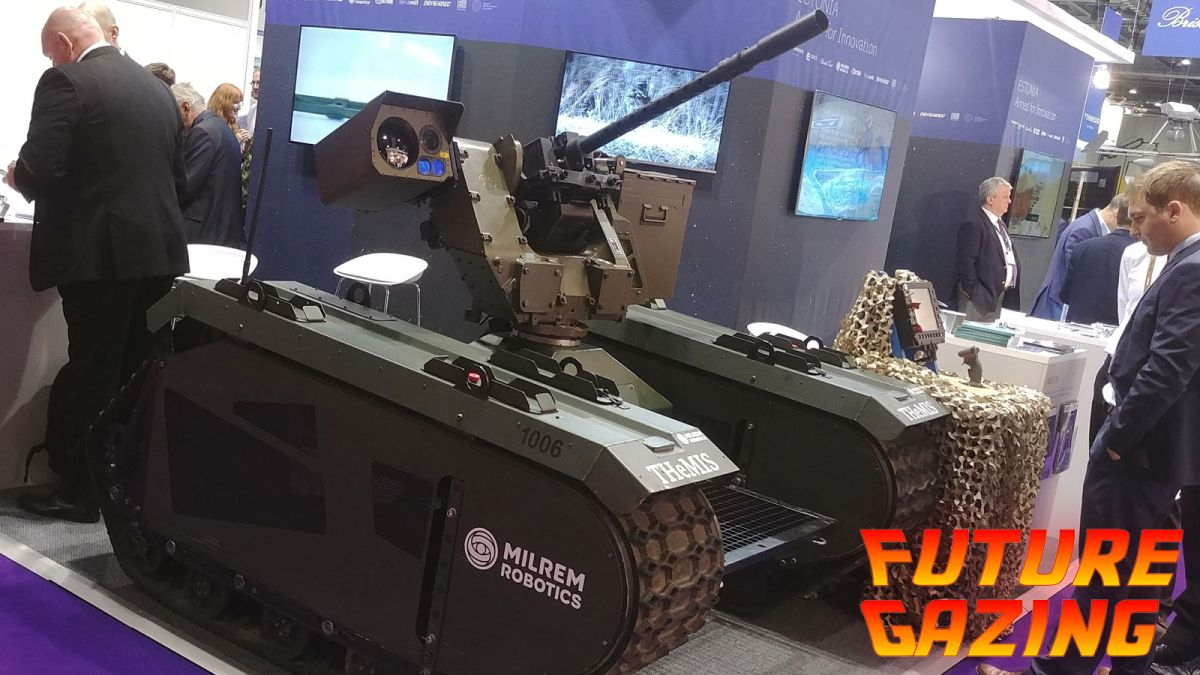 I went to an international arms fair (and all I got was this lousy existential dread)