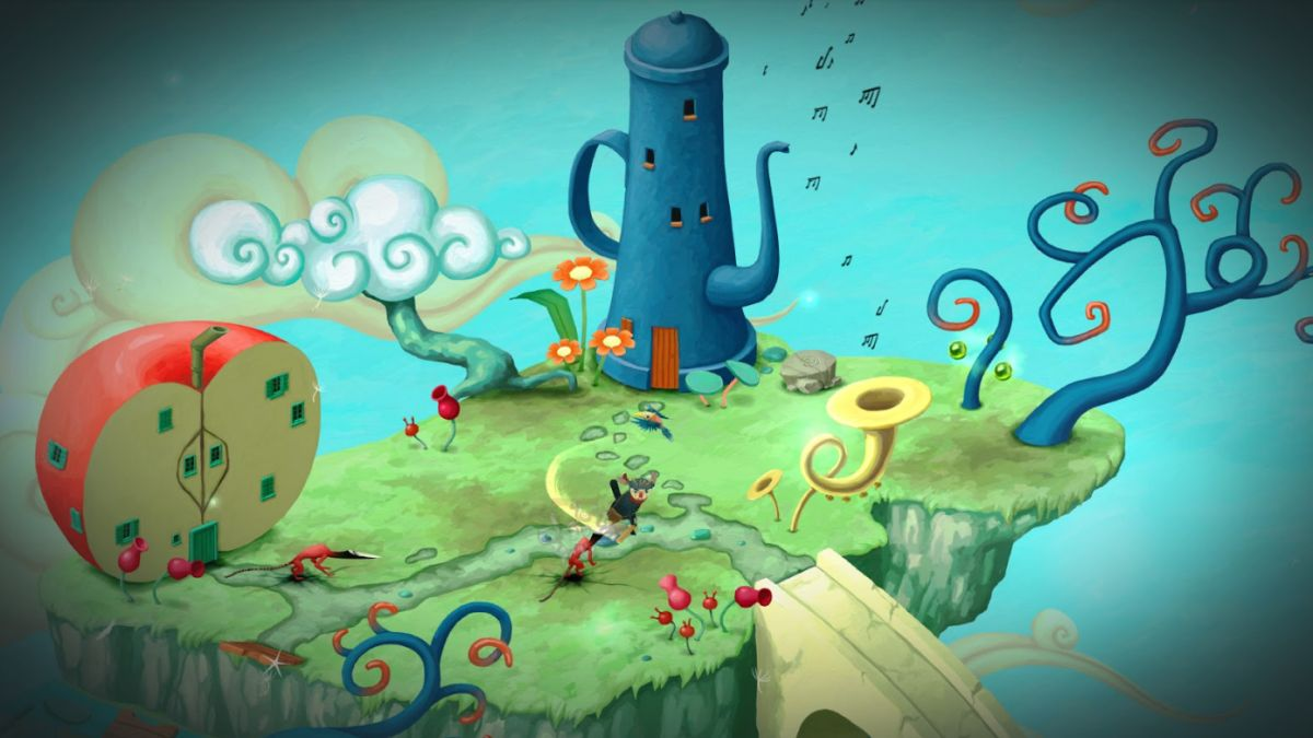 Figment is a beautiful isometric puzzler 'set in the recesses of the human mind'