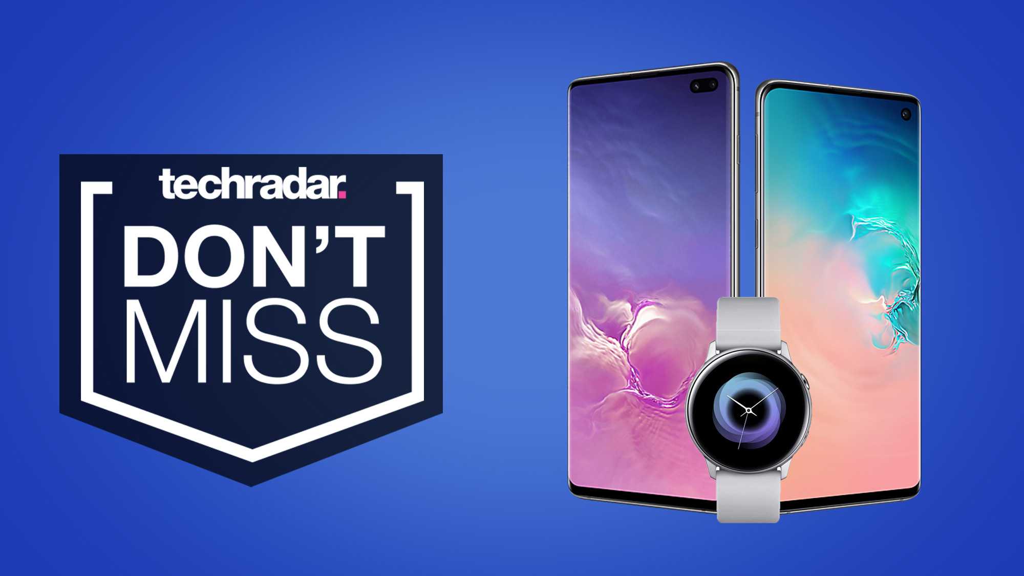 You can get a free smartwatch with these Samsung Galaxy S10 deals...but not for long