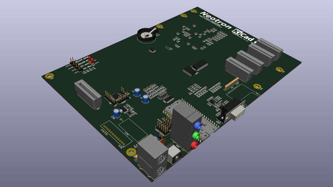Neotron Pico Is A Micro ATX Board For Your Raspberry Pi Pico