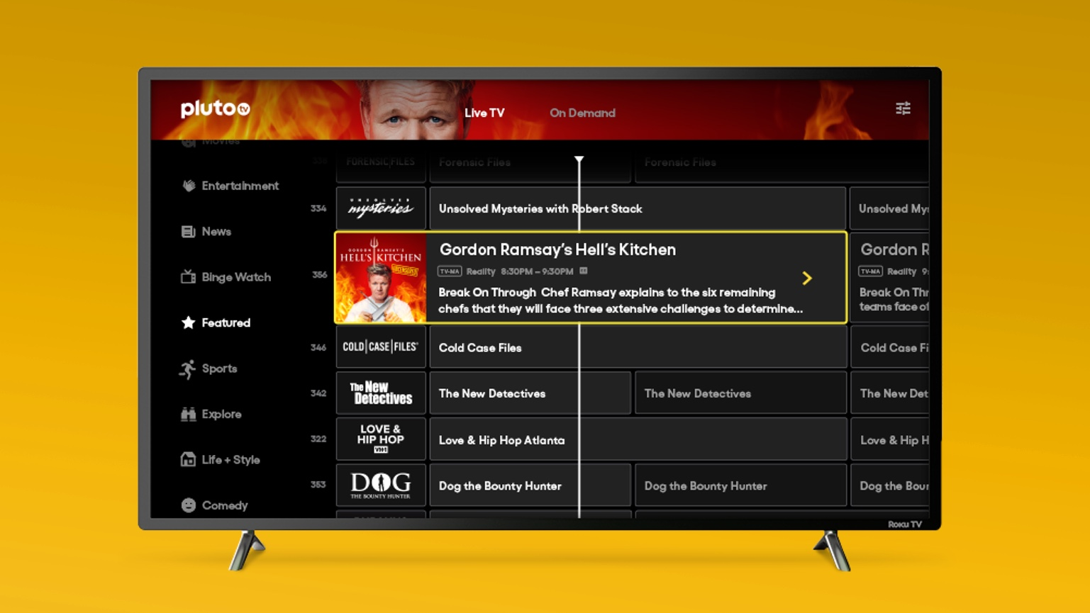 Pluto Tv Guide App Channels Reviews And How To Activate Tom S Guide