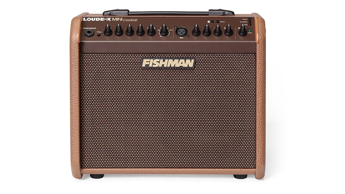 namm 2018 fishman 39 s new loudbox mini charge is a properly portable acoustic amp musicradar. Black Bedroom Furniture Sets. Home Design Ideas