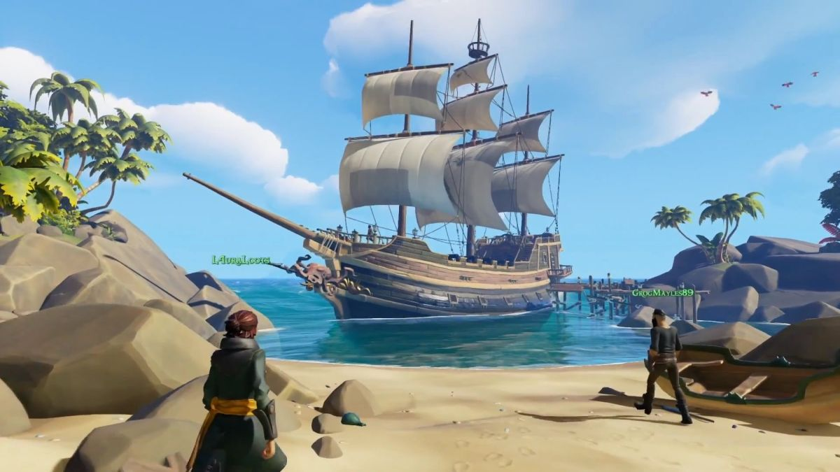 There's no virtual reality on the horizon for Sea of Thieves