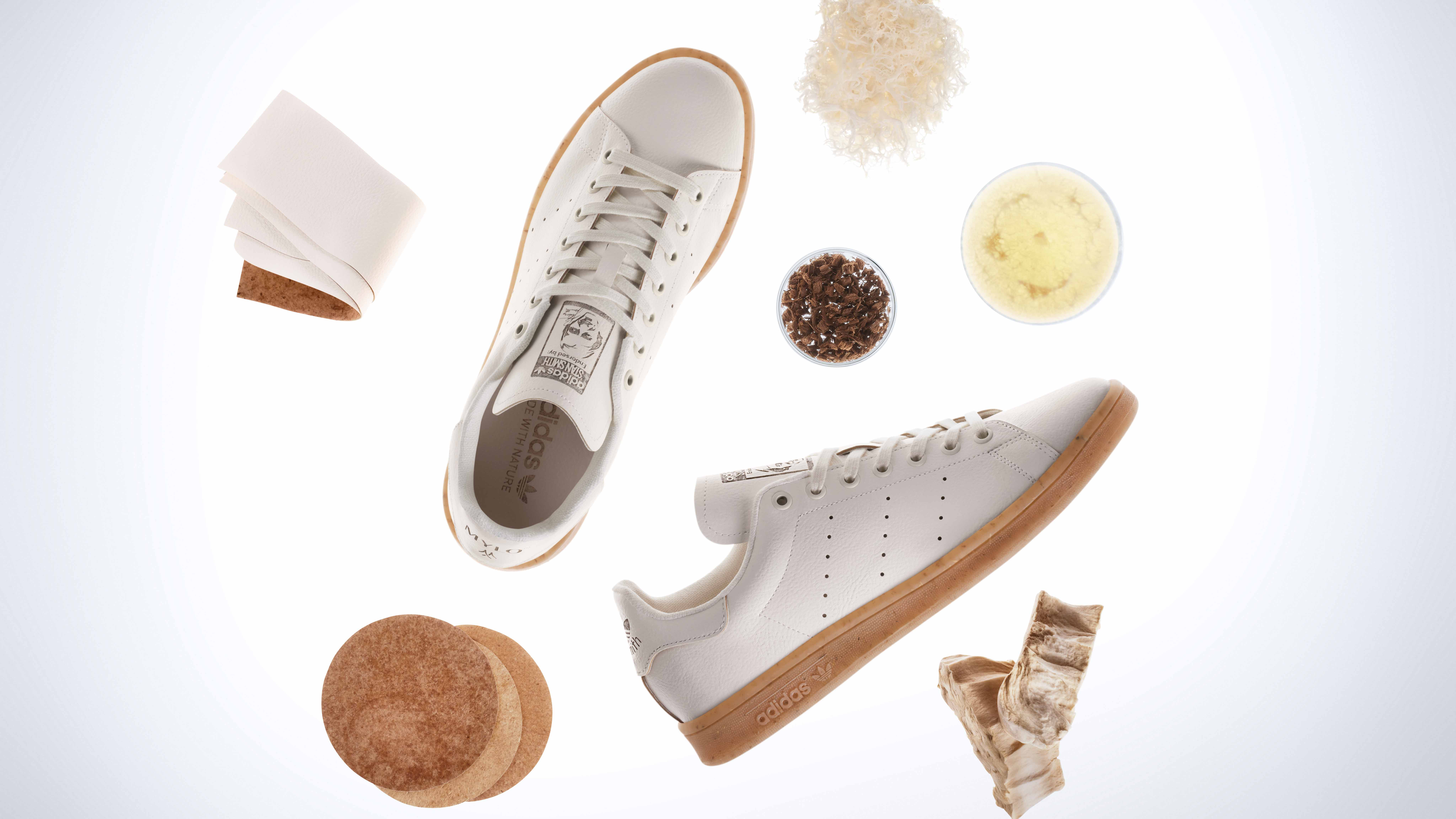 New adidas Stan Smith Mylo shoes are 'made from mushroom' in the name of sustainability