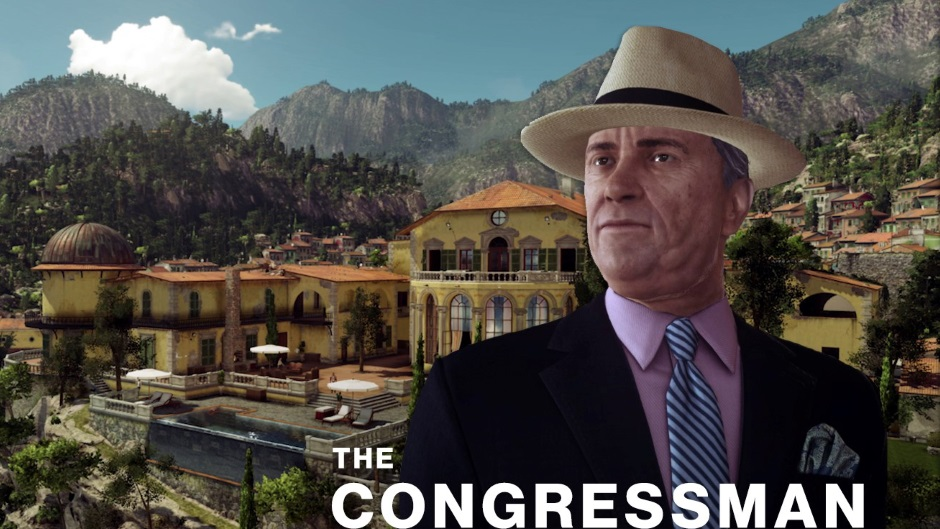 Hitman's second Elusive Target, 'The Congressman,' comes to Sapienza May 27   GamesRadar