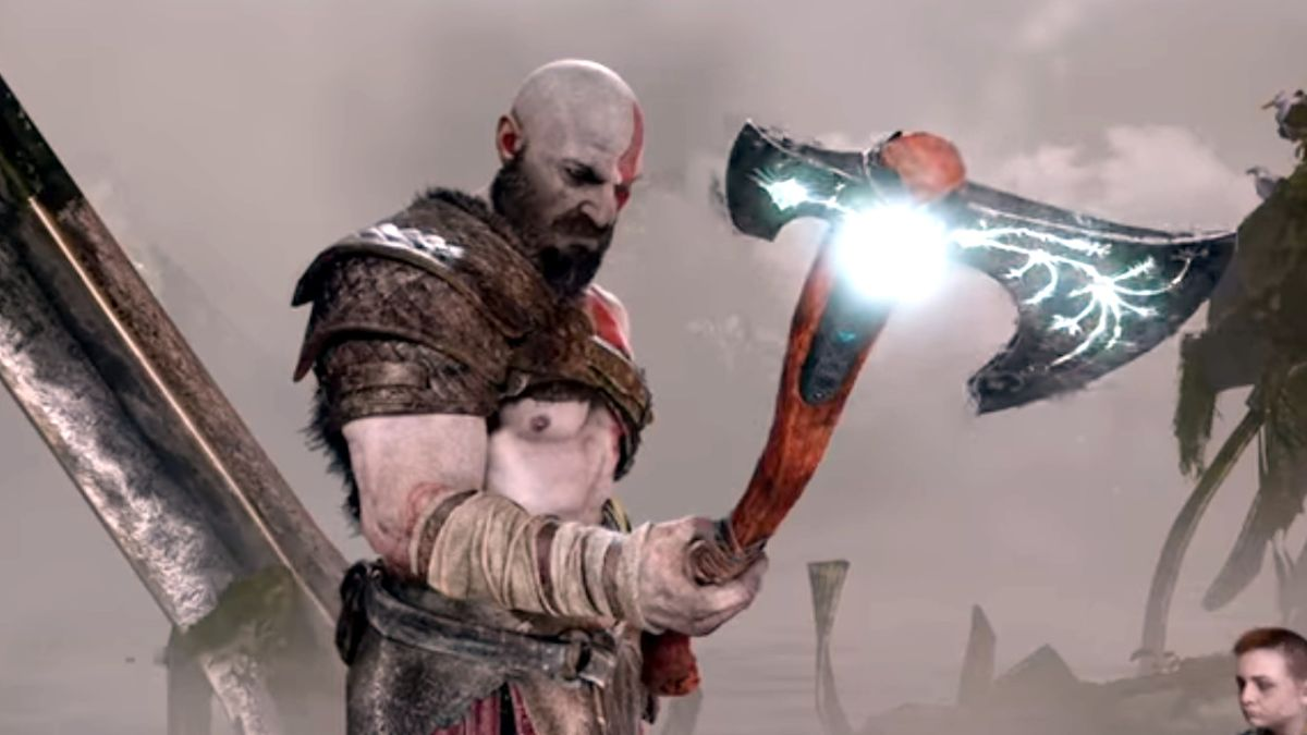 God of War director explains why Kratos lost his blades and got an axe - it's kinda deep