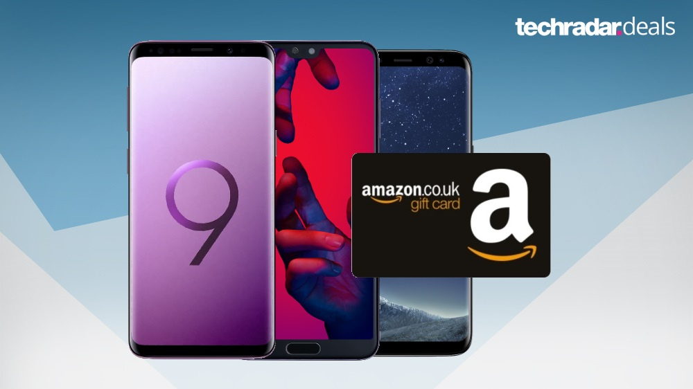 Get a £25 Amazon gift card now with some of the best mobile phone deals around