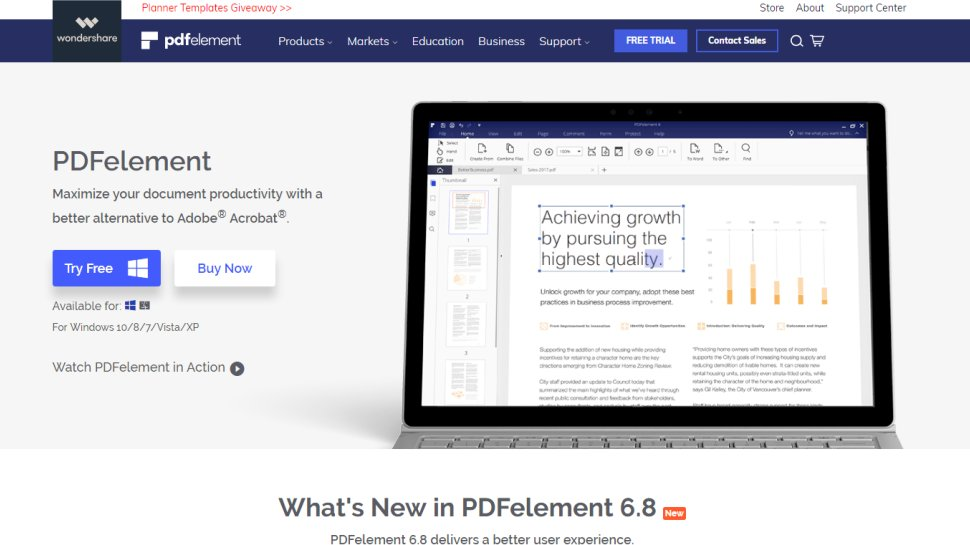 PDFelement Pro - A solid offering with decent platform support