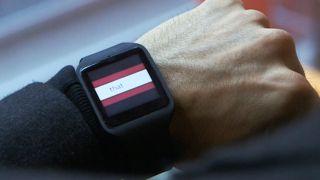 BBC news on smart watch
