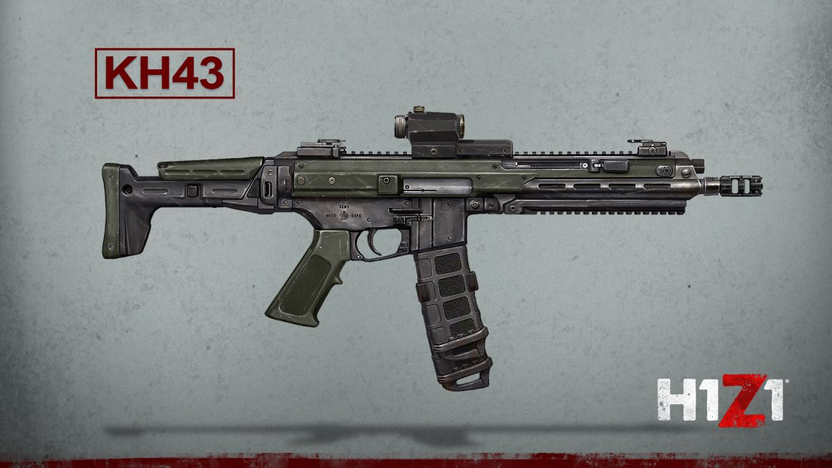 Here's your first look at the new weapons coming to H1Z1: King of the Kill