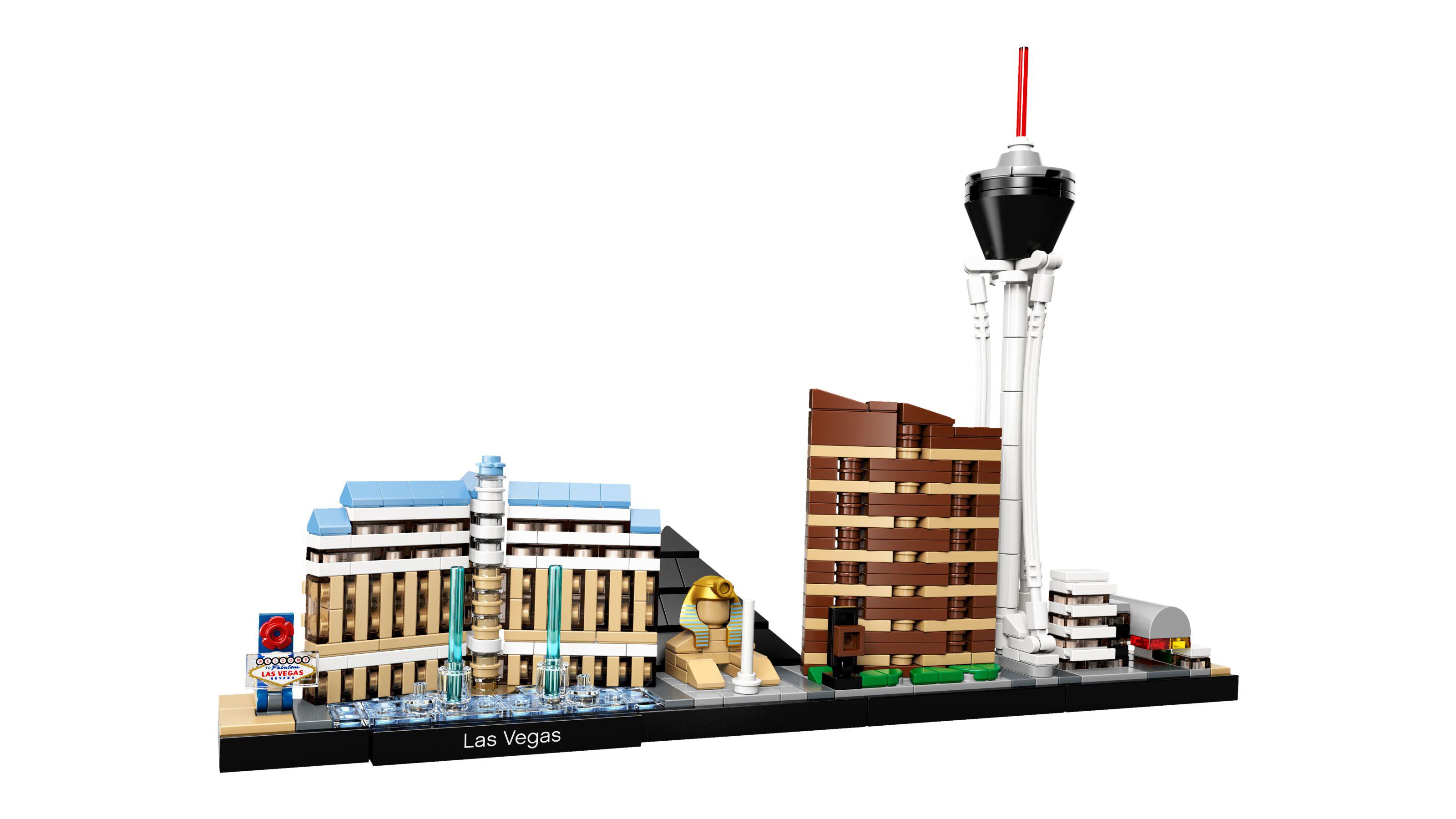 Best Lego Architecture sets: Las Vegas