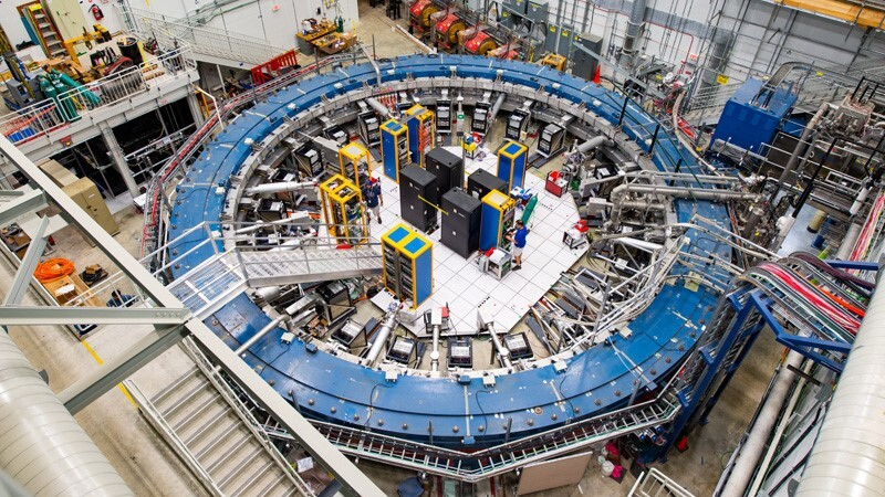 A tiny, wobbling muon just shook particle physics to its core thumbnail