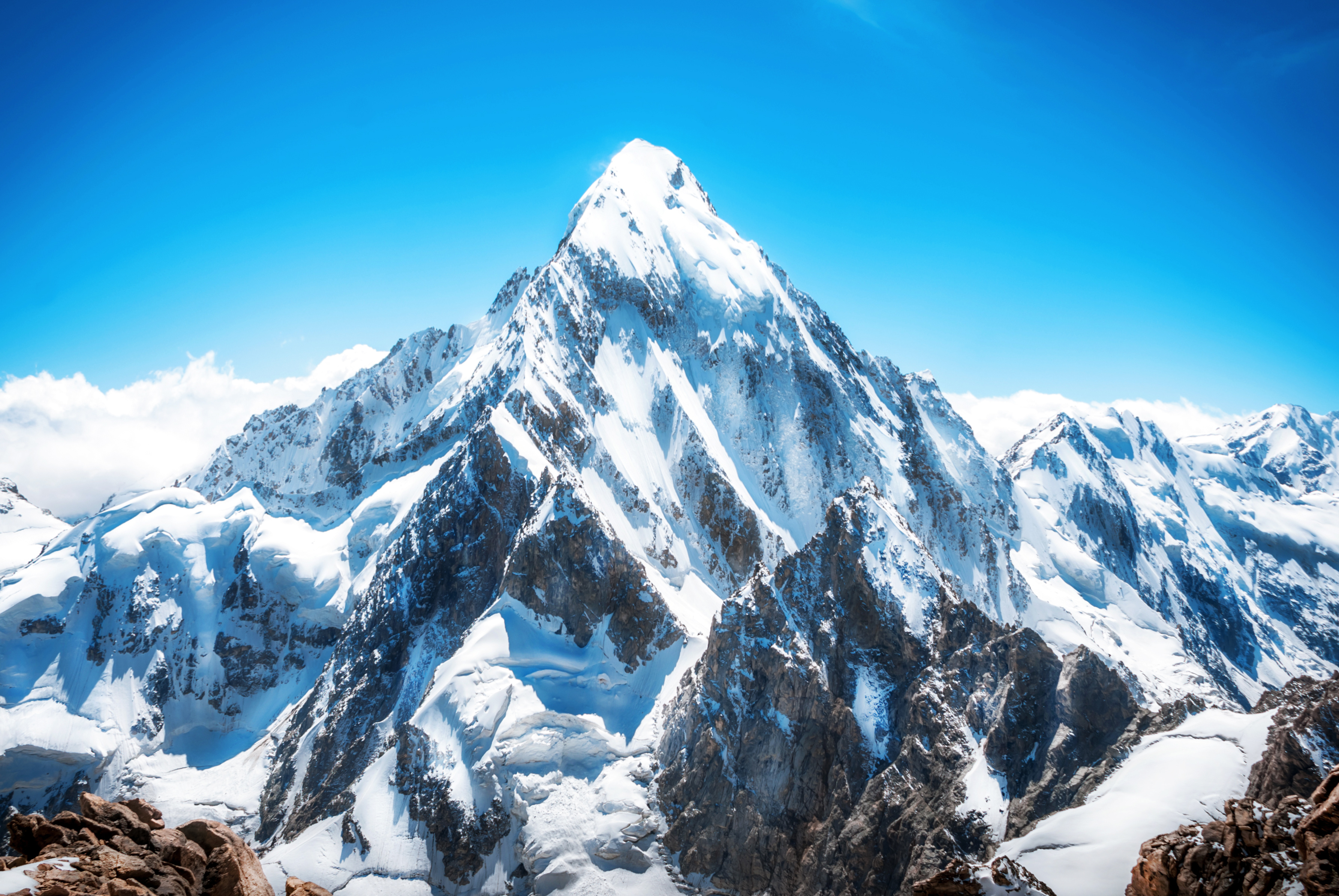 Why Don't Mountains Grow Forever?