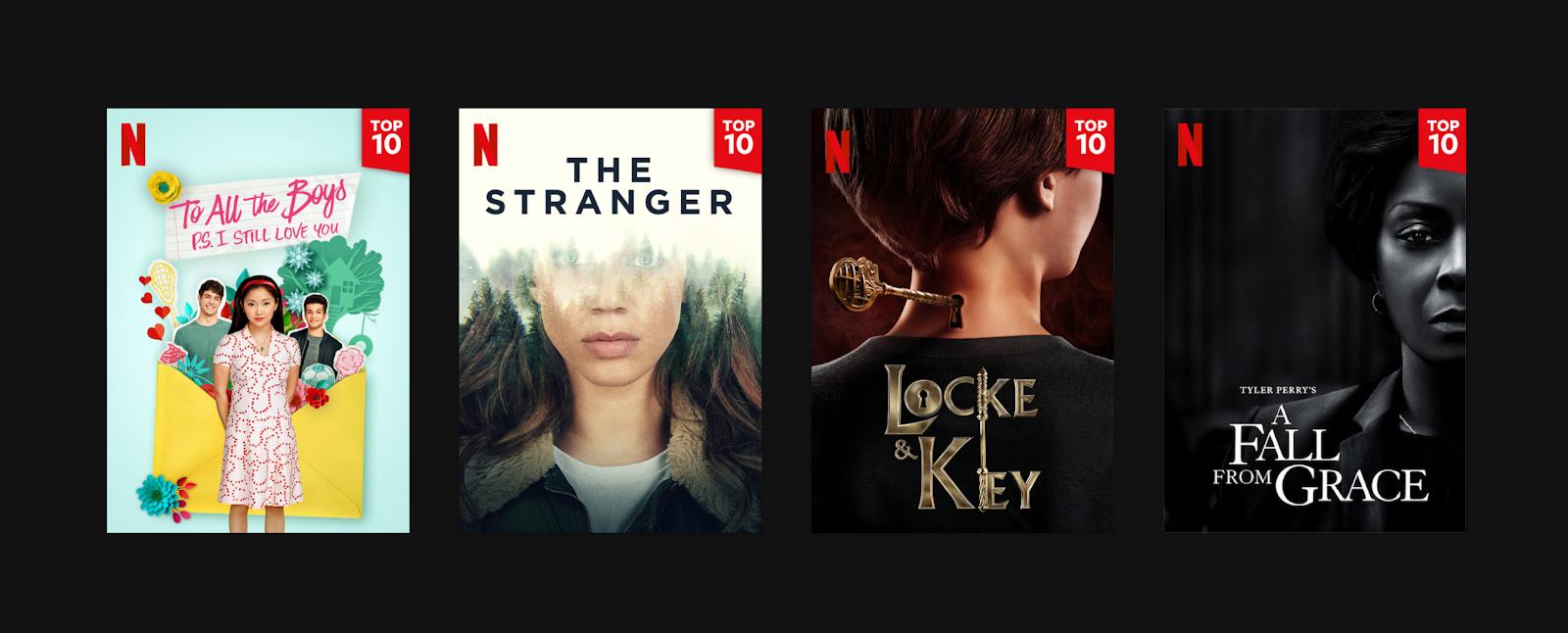 Netflix's Top 10 badge