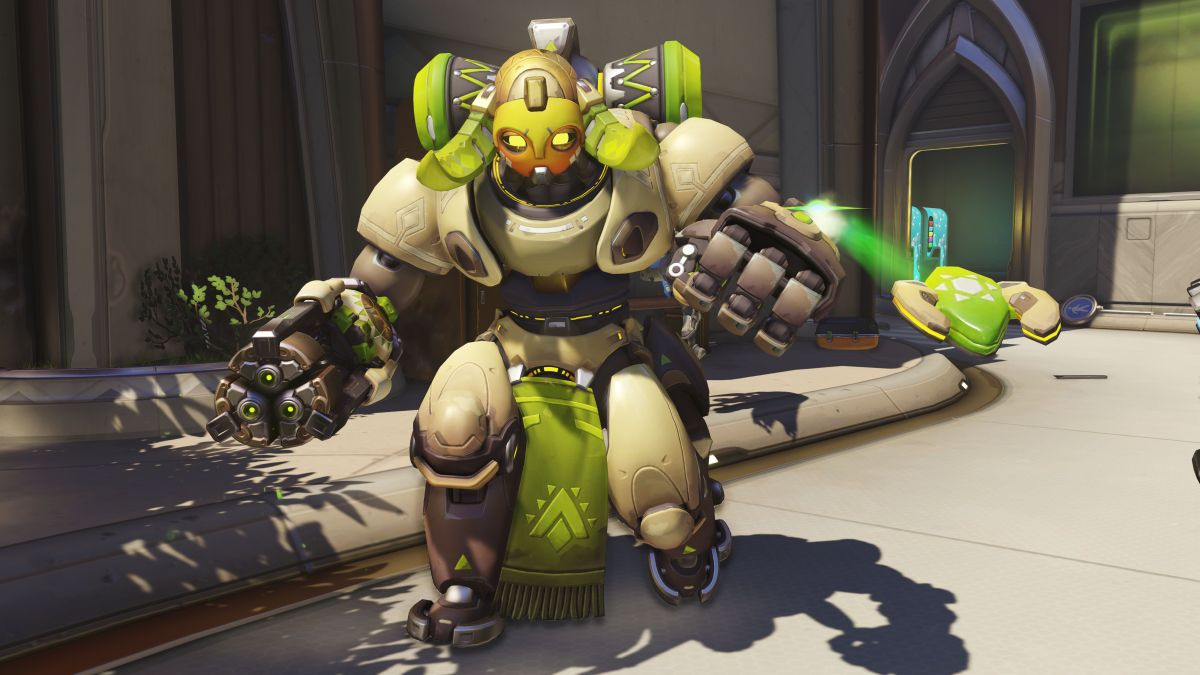 Overwatch's new hero Orisa is now available in Competitive Play (updated)
