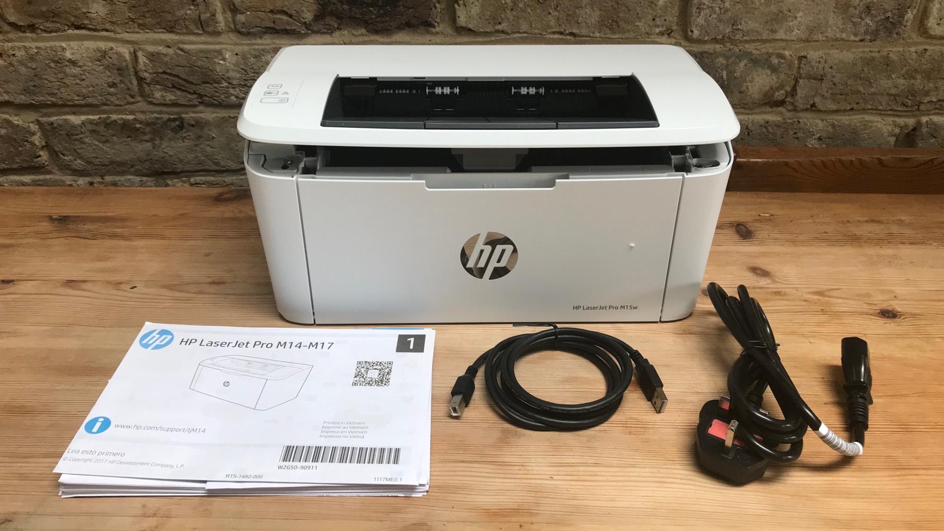 HP LaserJet Pro M15w accessories