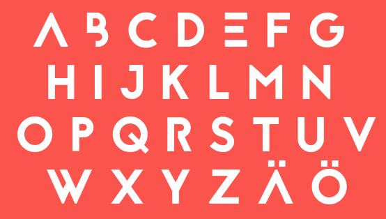 Free fonts Reckoner