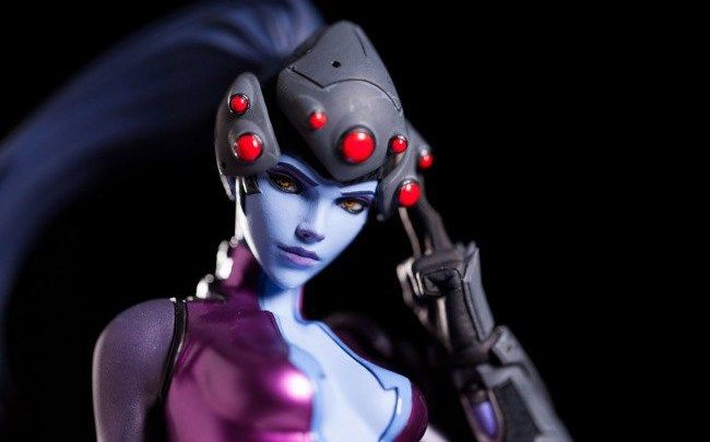 Widowmaker statue heads up the 'new' Blizzard Collectibles line