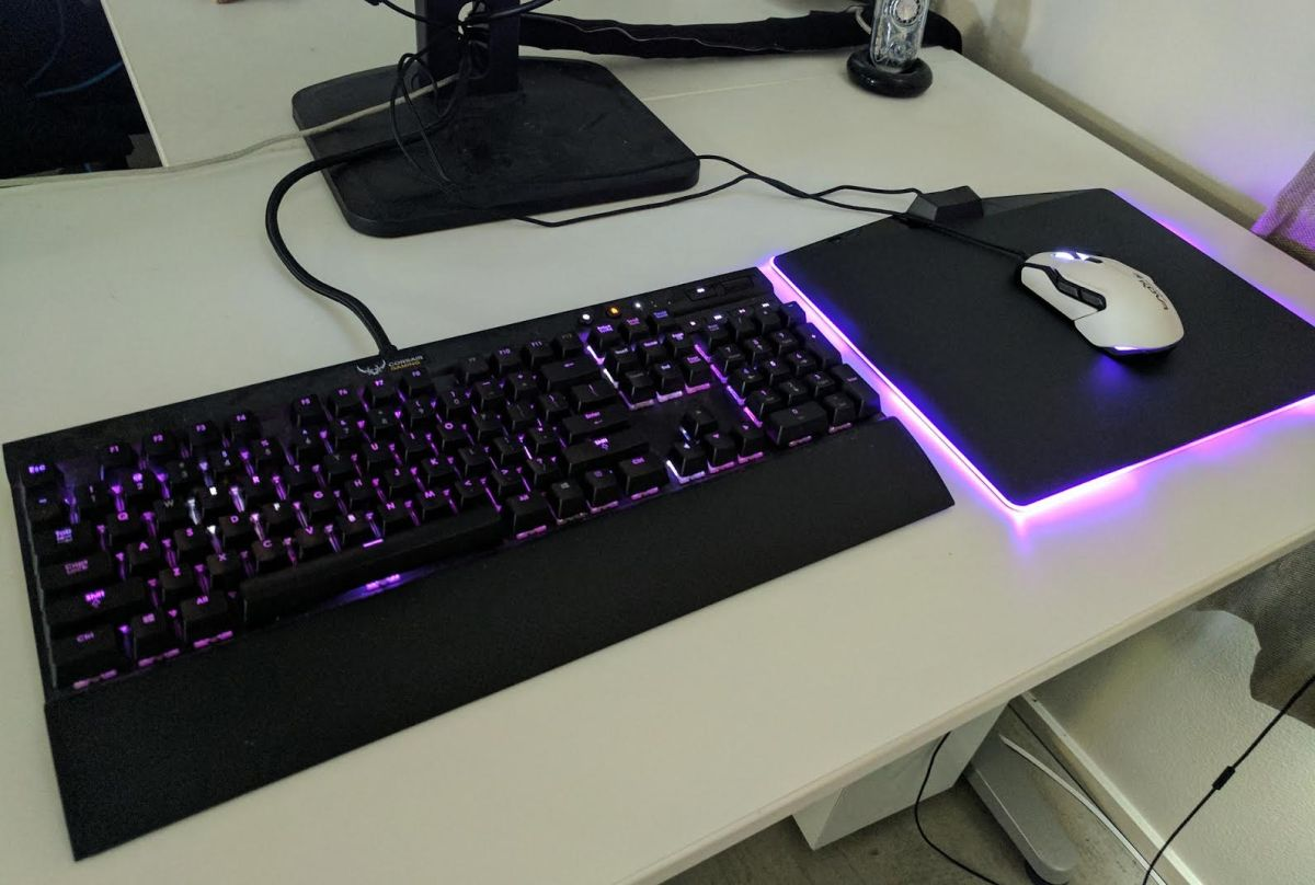 The Corsair Mm800 Rgb Mousepad Is On Sale Pc Gamer