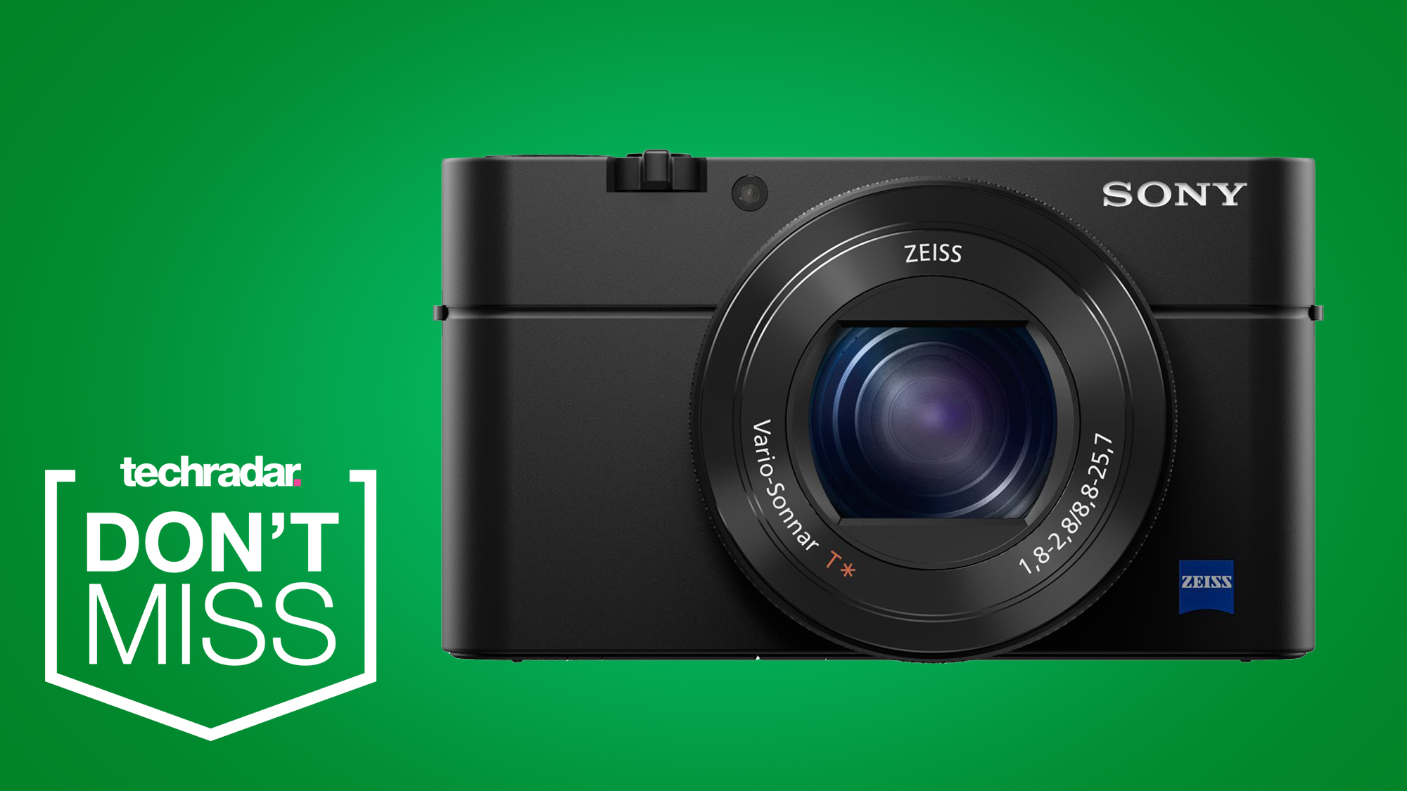 Get 20% off the Sony RX100 IV in Cyber Monday's best compact camera deal