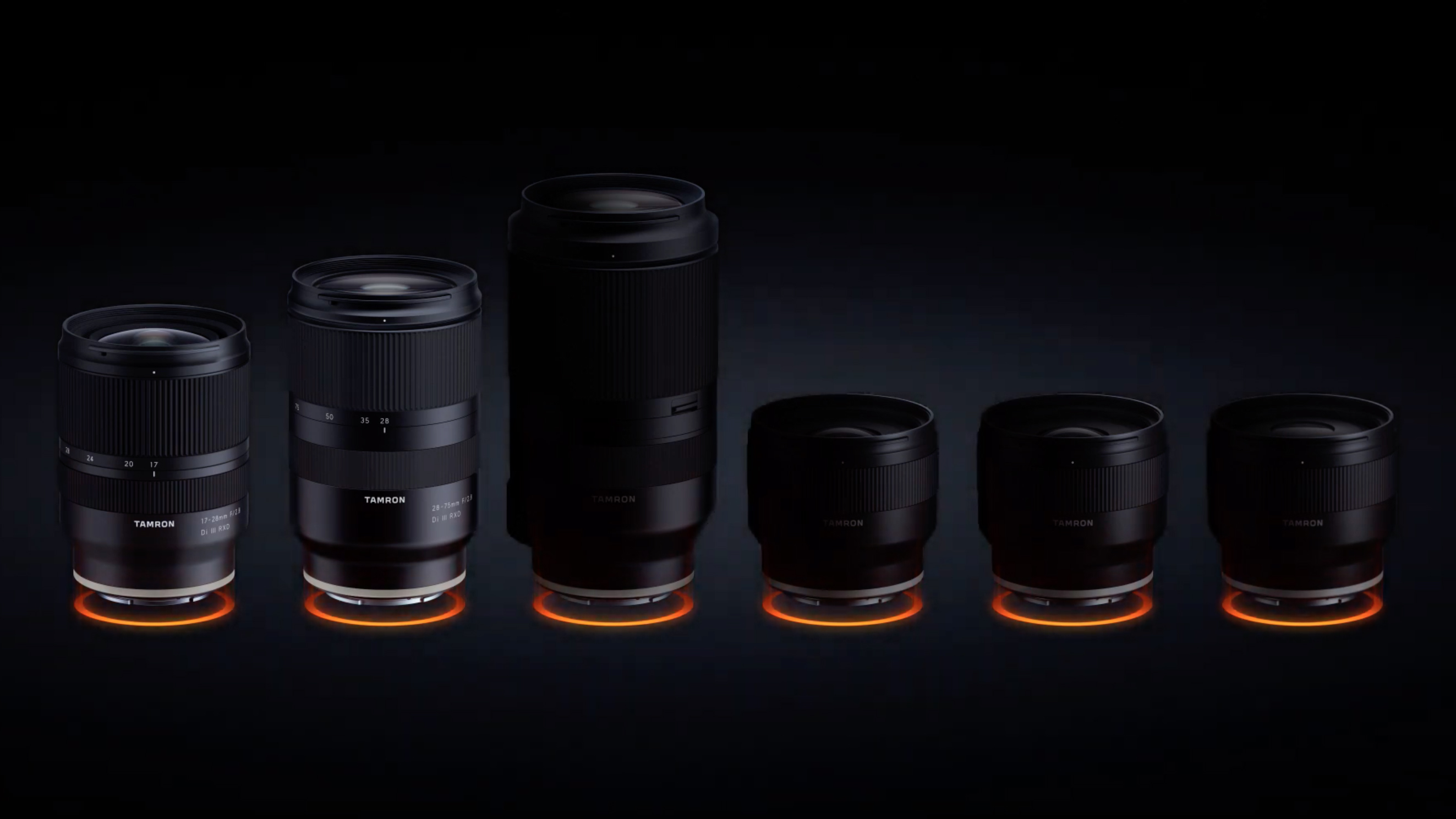 Four new full-frame Tamron lenses slated for October release – but only for Sony Alpha users?